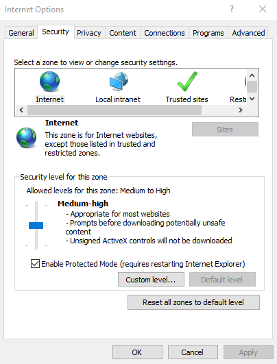 IE_setting(Enable Protected Mode)